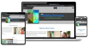 Custom Website Design, Graphic Design and Search Engine Optimization for Elohim Dreams