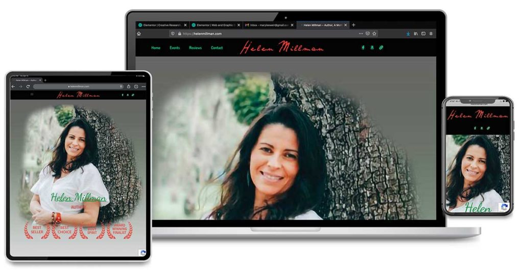 Website Design and Graphic Design for Helen Millman