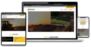 Custom Website Design, Search Engine Optimization and Graphic Design for James Weir Inc.