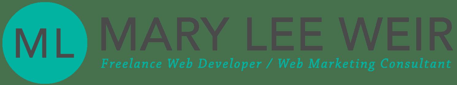 Mary Lee Weir -- Website Designer / Consultant