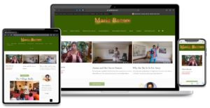 Graphic Design and Website Design for Maria Broom