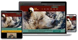 Website Design for Nation Unsevered