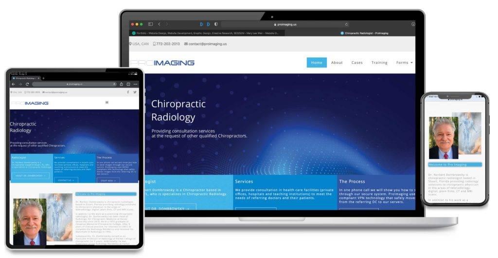 Search Engine Marketing, Search Engine Optimization and Custom Web Development for ProImaging, Stuart, Florida