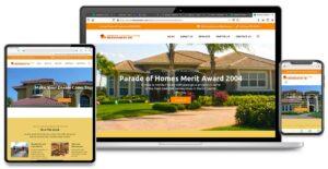 Sunrise Construction Management, INC - Website Design - All Device Display