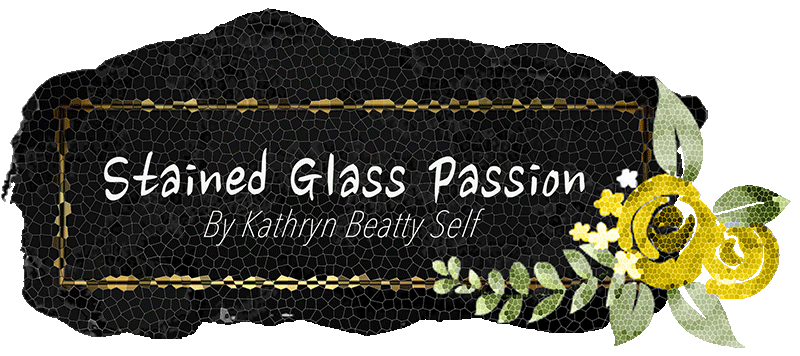 Stained Glass Passion, Logo, Graphic Design